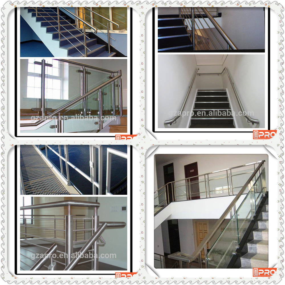 Latest Design Glass Handrail Balcony Aluminum And Glass
