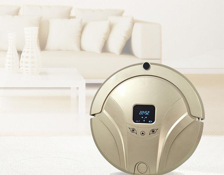 Amazon Alexa 및 Google Assistant-호환성 자동 충전 다기능 가전 진공 청소기 로봇