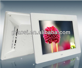 popular sexy video 169 ratio 10 battery operated digital photo frame