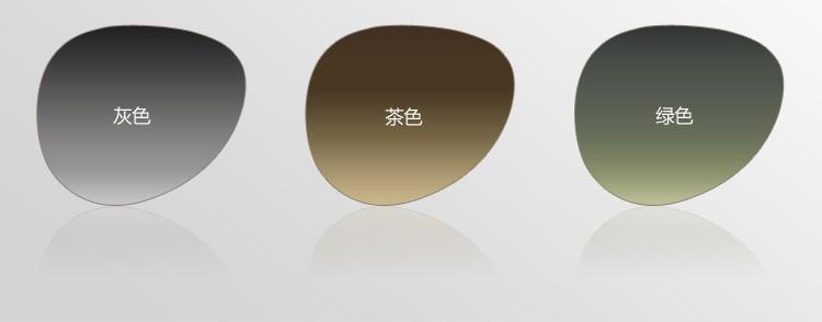f34af63fb11ba Lente CR39 óculos de sol Cinza Marrom Verde cor da lente Polarizada óculos  de