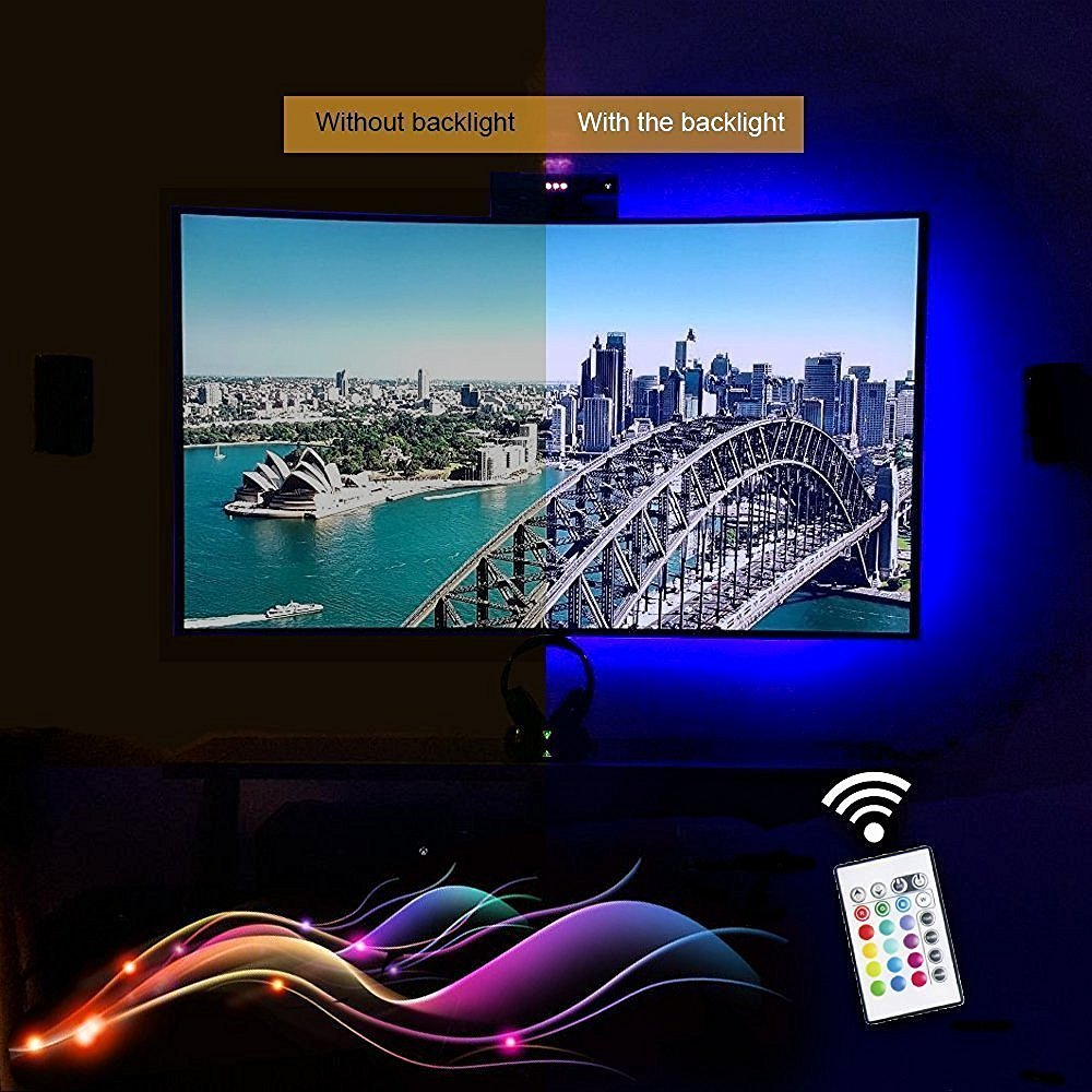 Tv retroiluminacin led franja con alimentacin usb 90 cm rgb tv retroiluminacin led franja con alimentacin usb 90 cm rgb multicolor nen acento sistema de kit para pantalla pc tv lcd buy tv retroiluminacin led aloadofball Choice Image