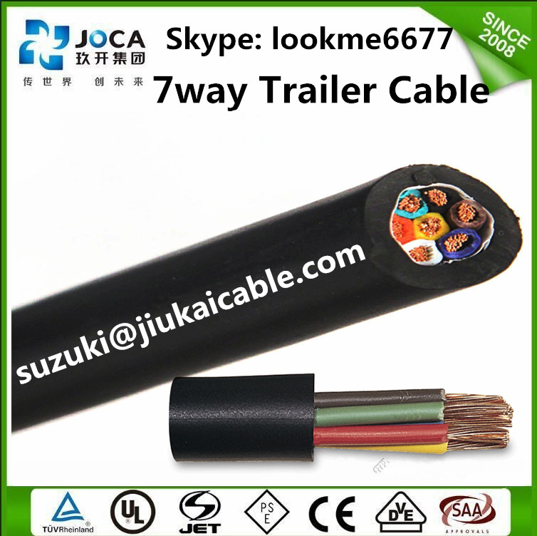 Magnificent 7 Conductor Trailer Wire Adornment - Simple Wiring ...