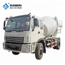 3m3 mobile nissan cement concrete mixer truck weight