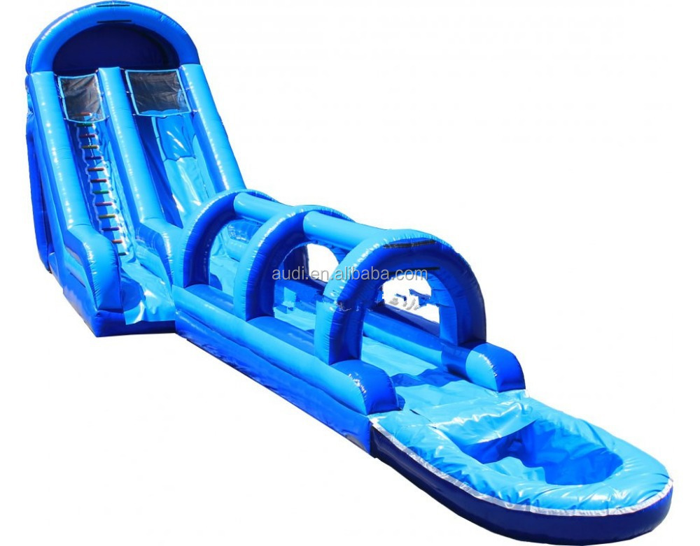 inflatable water slide repair bounce round water slide - Blow Up Water Slides