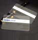 Plastic PVC Business ID Card Printing - Transparent translucent Business Cards for Wholesale