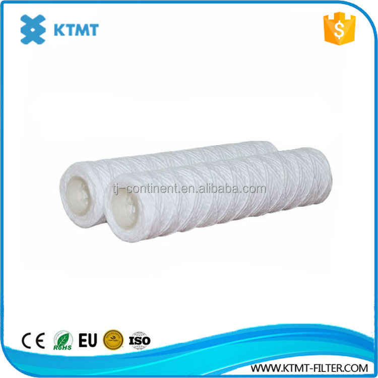 10' pp & activated carbon/CTO&UDF cotton string wound water filter cartridge