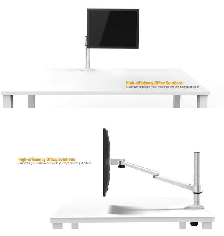 LCD monitor arm vesa mount for smart office