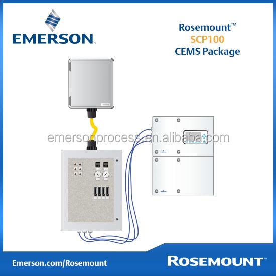 Rosemount التحليلية Scp100 نظم الرصد المستمر الانبعاثات