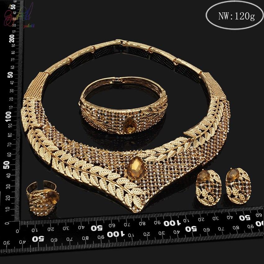 Indian Bridal Kangan Set Dubai 18k Gold Filled Jewelry ...