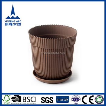 Durable Natural Looking Paper Mache Flower Pots Planters Buy Paper