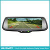 7.3 Inch LCD Full Screen HD Monitor Car Reverse Camera Rear View Mirror with Night Vision Back up Camera 3 Videos Input