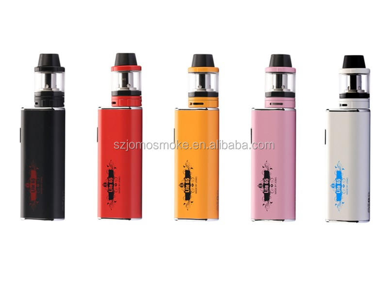 Alibaba co uk mod clone 2016 Jomo Newest huge vapor box mod Jomo Lite 65 with 3000mah battery 7 colors