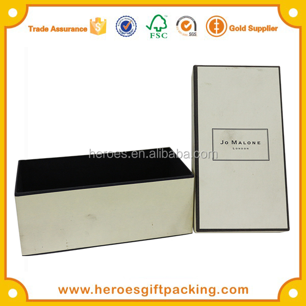 Trade Assurance Famous Brand Jo Malone Perfume Packaging Customize Paper Perfume Box