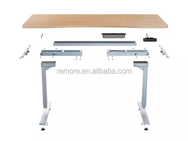 3 stages height adjustable table