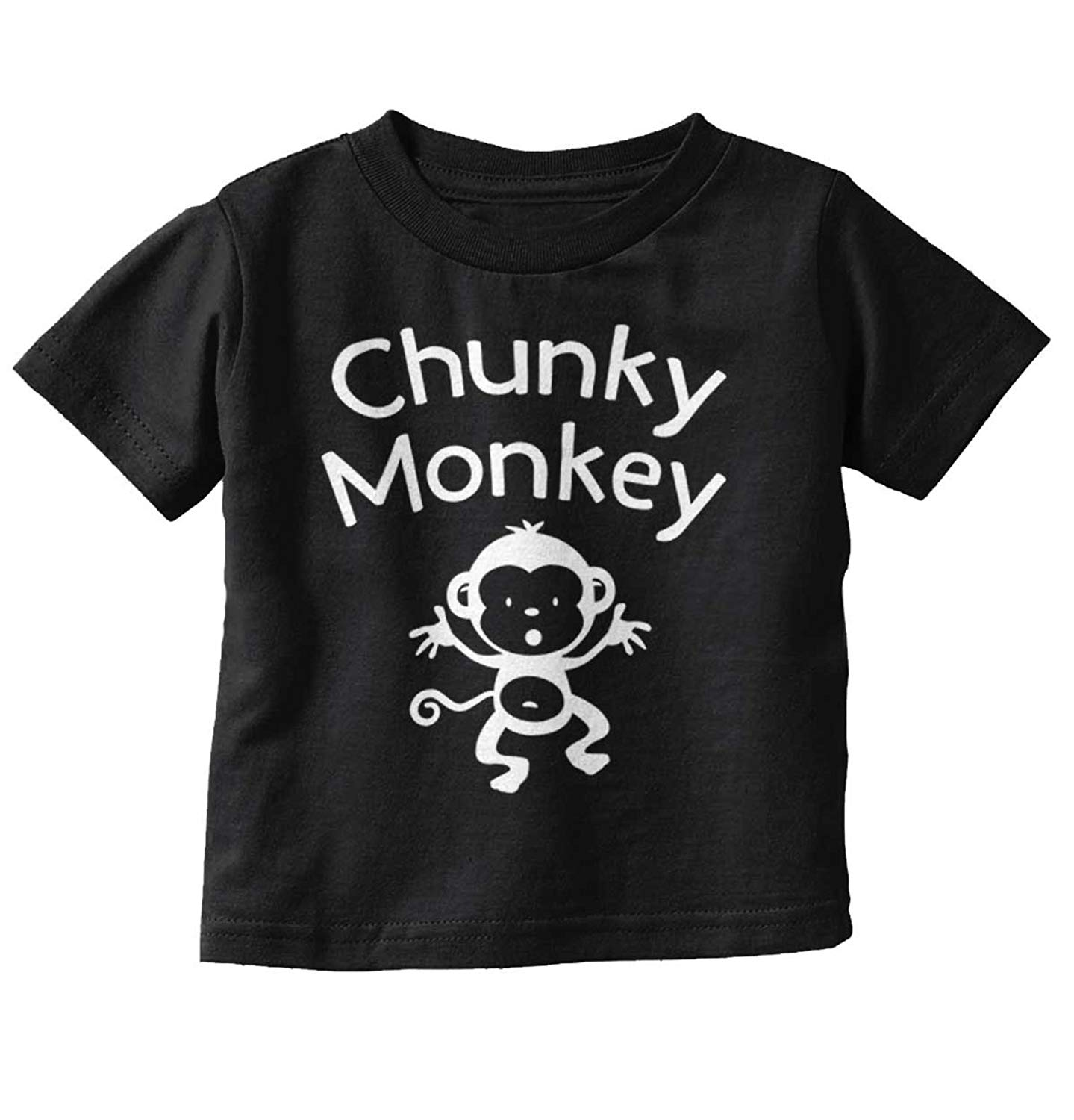Brisco Brands Chunky Monkey Funny Cute Infant Baby Gift Toddler Infant T