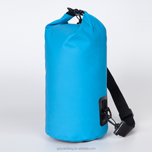 China Supply Waterproof Ocean Pack dry bag for camping boating fishing rafting hiking