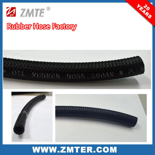 ZMTE colorful rubber water hose manufacturer pressure rubber air oil hose according to ISO 9001:2008