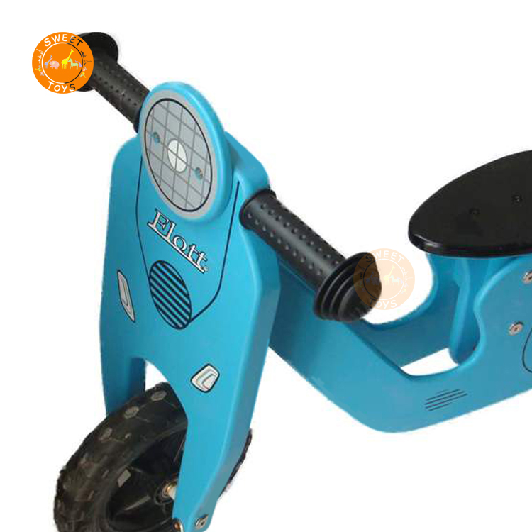 Children bike kids wood toys two wheels no pedal wooden balance bike for kids toddlers Baby Girl Cycle for children