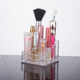 9 TUBE LIPSTICK HOLDER ACRYLIC MAKEUP COSMETIC ORGANISER DRESSING TABLE STORAGE