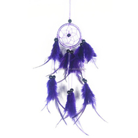 Lilac Dream Catcher Car Hanging Decoration