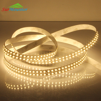 24V Cuttable Double Dual Quad Row Led Strip 3528 Led Rope Light