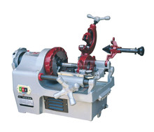 tire threading machine