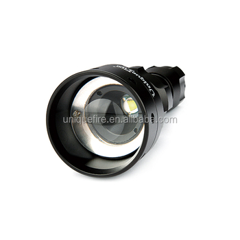UniqueFire 1503-t50 aspheric lens for hunting flashlights with cree xm-l2 white led