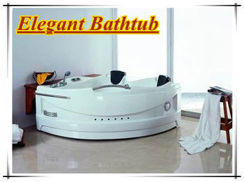 For Two Person Spa Bath Portable Whirlpool Bathtub Acrylic