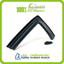 Custom Waterproof 90 degree Sliding Door rubber edge Seal Strip