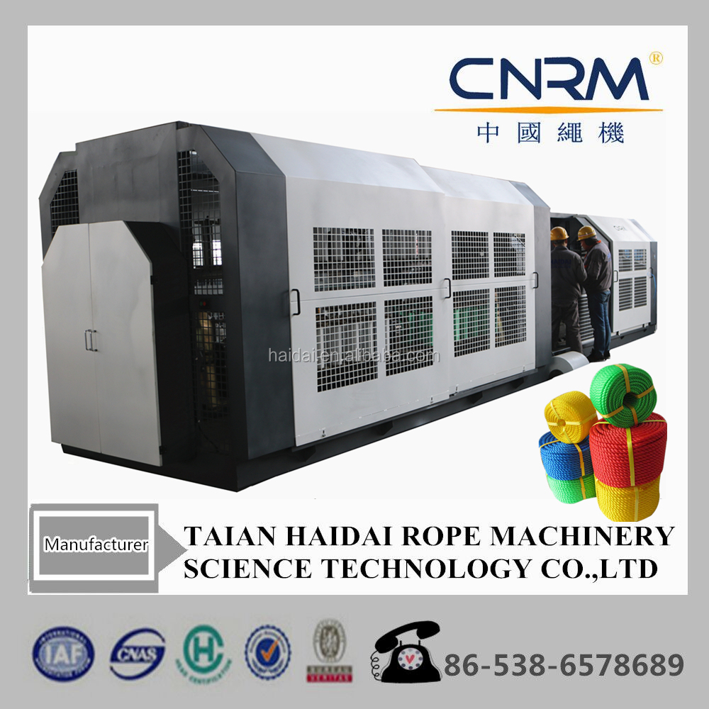 3-strand or 4-strand plastic twisted strands rope machine
