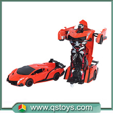 Intelligent shape shifting robot 2.4G RC distortion deformation stunt cars remote control toys