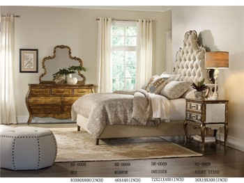 Black Mirrored Bedroom Set Furniture/hotel Bedroom Set For Sale/french Antique  Bedroom Furniture