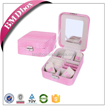 Delicate Design Jewelry Packaging Wood Gift Boxes Wholesale Small
