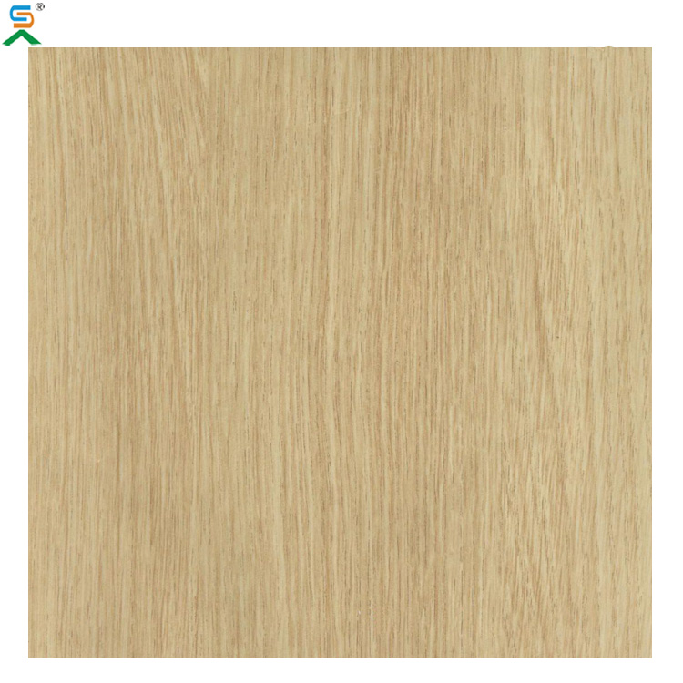 Wooden Finish for interior wall decoration UV Curing Fiber Cement Board