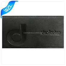 Fake leather patch label, New design jeans logo embossed patch
