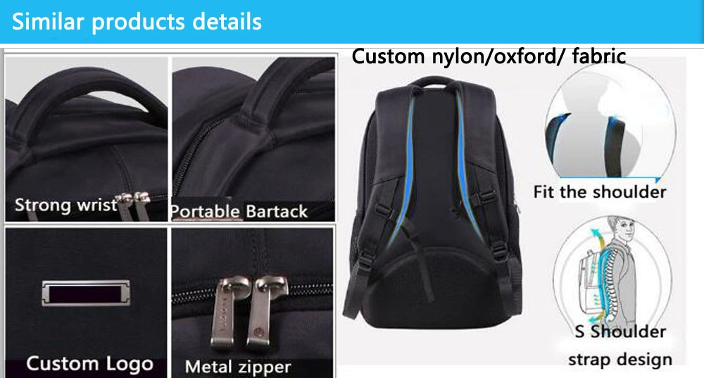 fbb7dc923ef New design fashion marco polo bag custom fancy laptop backpack with dobby