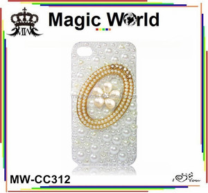Pearl mirror phone covers for samsung s5