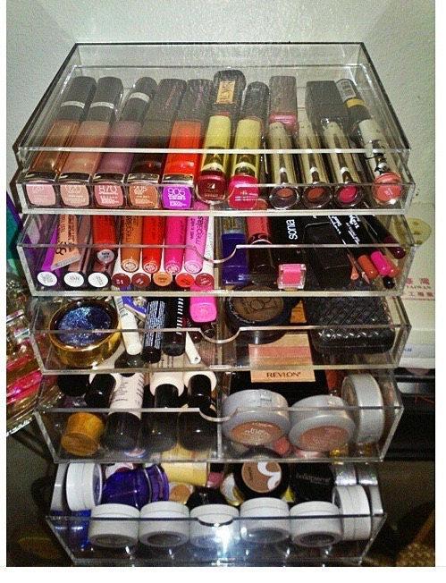 DELUXE MAKEUP ORGANIZER 5 tier acrylic makeup organizer. New  Deluxe Makeup Organizer 5 Tier Acrylic Makeup Organizer   Buy