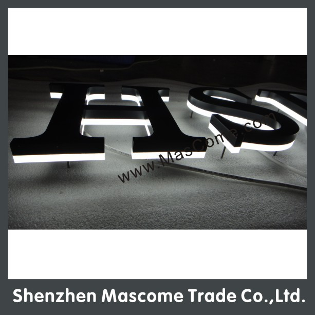 Wire hanging type LED light acrylic sign
