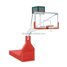 Factory direct supply monitor height adjustable hydrualic basketball stand