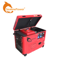 High Quality EPA Top Open 50Hz/60Hz 5kw Portable Diesel Generator 5kva to 6kva Genset