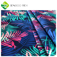 High Quality 100% gots certificate organic cotton poplin fabric designable print