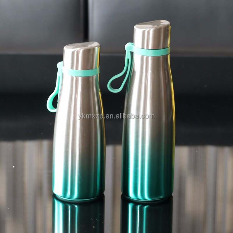 Free 350ml stainless steel water bottle insulated vacuum flasks