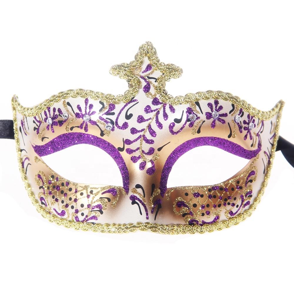 Deluxe Venetian Fancy Dress Party Mask Mardi Gras Masquerade Carnival Ball