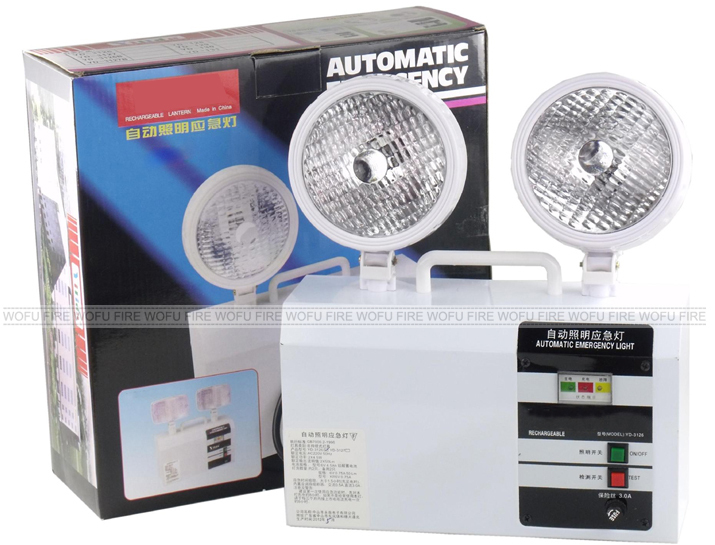 Emergency Light/led Emergency Light With Two Lamp/wall Mounted Led ...