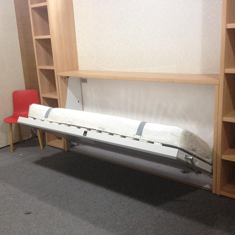 Vouwen horizontale wand bedden muur bedden met een opslag for Bed in muur