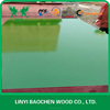 At competitive price PP green plastic film faced plywood