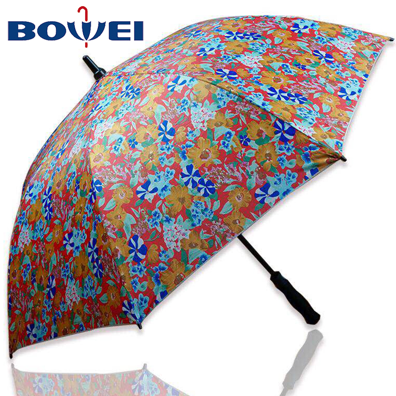 2019 Newest Style China Cheap Price Pongee Golf Umbrella