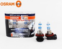 OSRAM 64211NBU NIGHT BREAKER UNLIMITED H11 Headlamp Halogen bulbs 55W 110% brighter