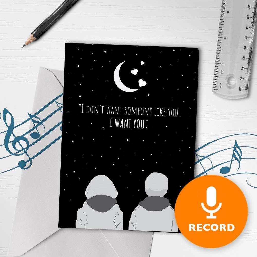 Анимация, записать голосовую открытку